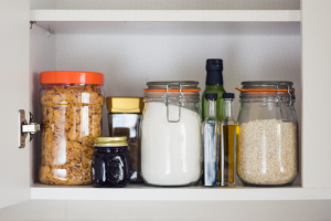 clearing out your kitchen cupboards