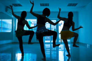Dancing on the TIkTok app